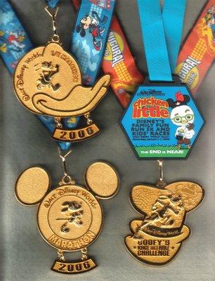 2015 Disney Marathon Medal