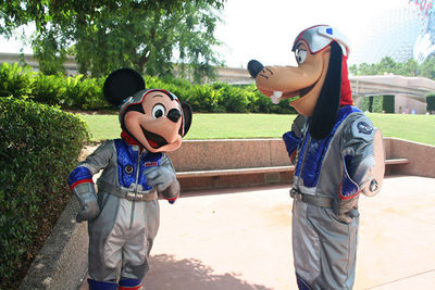 Mickey Space Suit (page 3) - Pics about space
