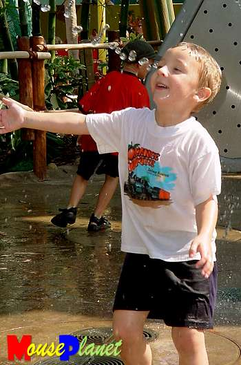 Matthew is so busy playing in Dot's Puddle Park that it�s hard to catch him still long enough to snap a picture!