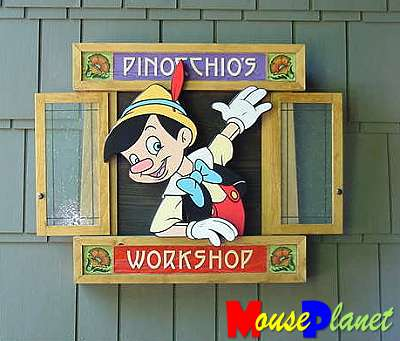 Pinocchio's Workshop at the Grand Californian