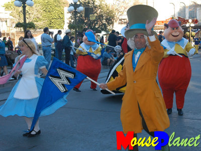 Characters from Alice in Wonderland, Cinderella, Peter Pan, Aladdin and more