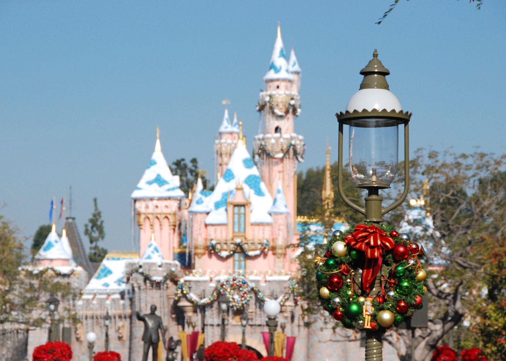 a - Disneyland Christmas Time
