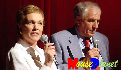 Julie Andrews and Garry Marshall