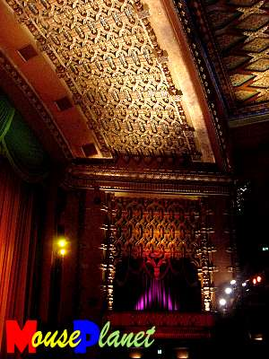 The El Capitan's restored interior