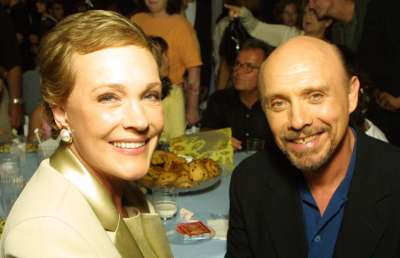 Julie Andrews and Hector Elizondo at the premier of The Princess Diaries, promotional photo © Disney