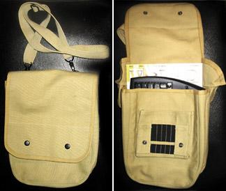 Canvas Map Case Shoulder Bag 96