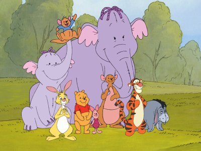Character From Winnie The Pooh - Heffalump 3