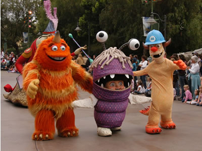 monsters inc boo. Boo (center) and monster
