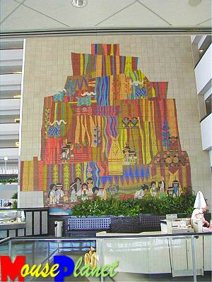 Mouseplanet collected short subjects by mousestation crew for Contemporary resort mural