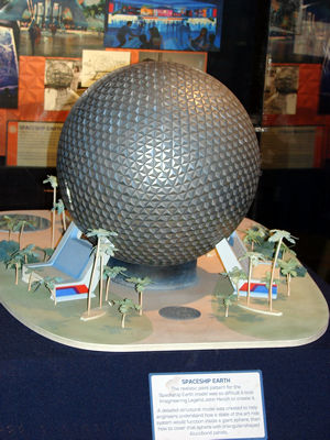 Epcot Spaceship Earth Toy Spaceship Earth has a