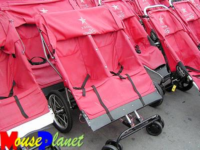 The Epcot double stroller.