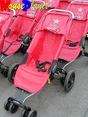 MGM-Studios is the only major WDW theme park to rent jogging-style strollers to guests.