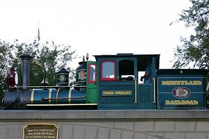 Image of Disneyland Railroad