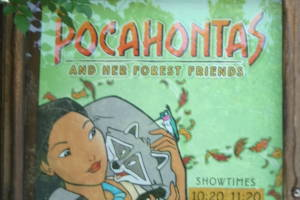 Image of Pocahontas and Her Forest Friends